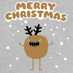 Merry Christmas Moose Babytröjor - Baby-T-shirt