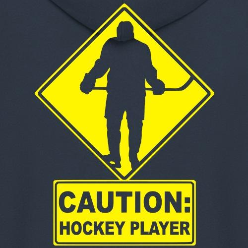 CAUTION: Hockey Player