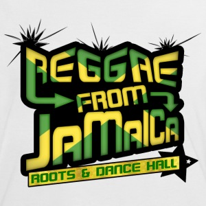 reggae from jamaica roots & dance hall T-shirts - Kontrast-T-shirt dam
