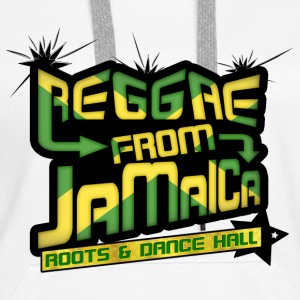 reggae from jamaica roots & dance hall Pullover - Frauen Premium Hoodie