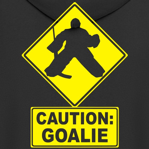 Caution: Goalie (hockey)