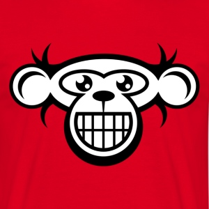 Monkey Face T-Shirt - Men's T-Shirt