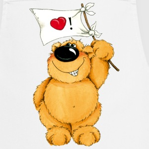A lovesick bear  Aprons - Cooking Apron