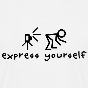 Express Yourself T-shirts - Herre-T-shirt