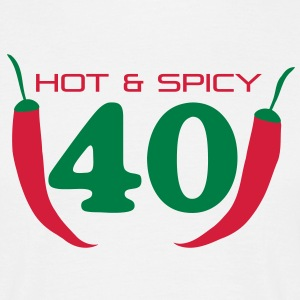40_hot_spicy T-Shirts - Männer T-Shirt