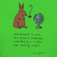 Design ~ Pipe smoking rabbit - Womens colours