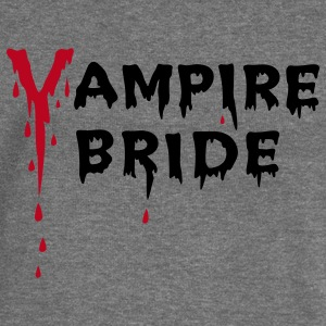 Vampire Bride Hoodies & Sweatshirts - Women's Boat Neck Long Sleeve Top