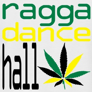 ragga dance hall  T-Shirts - Männer Baseball-T-Shirt