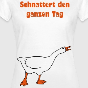 Gans T-Shirts - Frauen T-Shirt