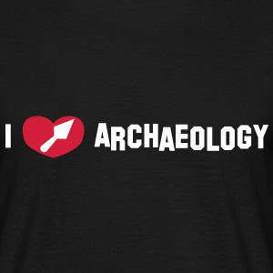 I love archaeology - T-shirt Homme