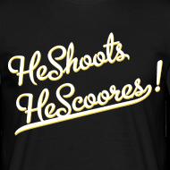 ~ He Shoots He Scoores - Baseball Bianconero