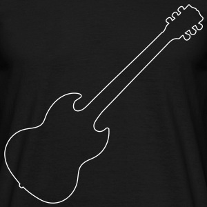 SG Guitar - Men's T-Shirt