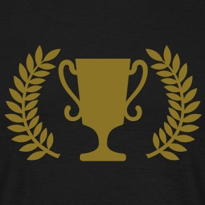 Pokal | Cup | gold | Award | Lorbeer | Auszeichnung T-Shirts - T-shirt Homme