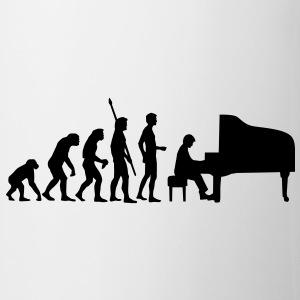 evolution_pianist Tasses - Tasse