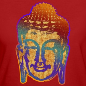 PRAYING BUDDHA | Frauenshirt organic - Frauen Bio-T-Shirt