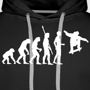 evolution_skater Sweat-shirts - Sweat-shirt à capuche Premium pour hommes