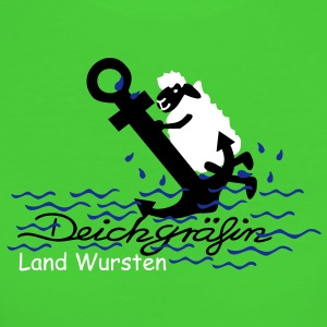land_wursten_n T-Shirts - Frauen Bio-T-Shirt