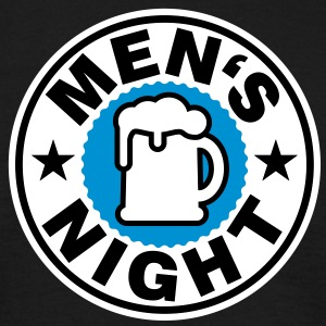 Man's Night | Mensnight | Beer | Bier T-Shirts - T-shirt Homme