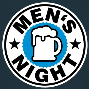 Man's Night | Mensnight | Beer | Bier T-Shirts - Maglietta da uomo