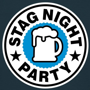 Stag Night | Bachelor Party | Beer | Bier T-Shirts - Koszulka męska