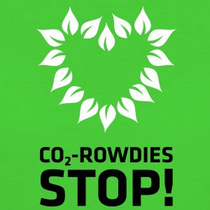 CO2 Rowdies Stop - Frauen Bio-T-Shirt