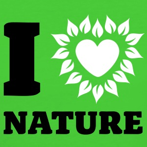 I Love Nature - Frauen Bio-T-Shirt