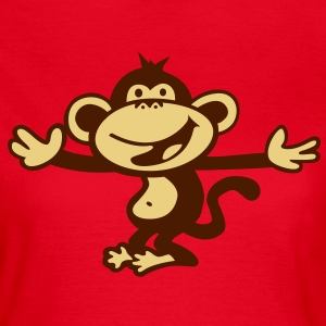 monkey orang utan primate smile cute T-Shirts - Women's T-Shirt
