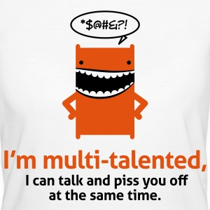 Multi Talented 1 (2c)++ T-Shirts - Frauen Bio-T-Shirt