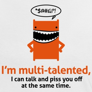 Multi Talented 1 (2c)++ T-Shirts - Women's Ringer T-Shirt