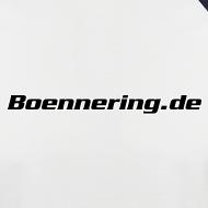 Motiv ~ Das Boennering-Kurzarm-Baseballshirt - Farbe wählbar