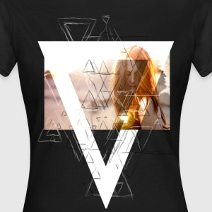 Triangle with the Girl T-Shirts - Frauen T-Shirt