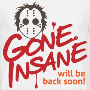 Gone Insane 3 (dd)++ T-shirts - Herre-T-shirt