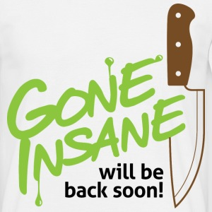 Gone Insane 2 (dd)++ T-shirts - Herre-T-shirt