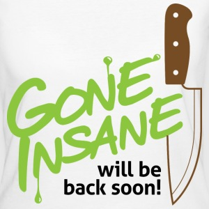 Gone Insane 2 (dd)++ T-shirts - Organic damer