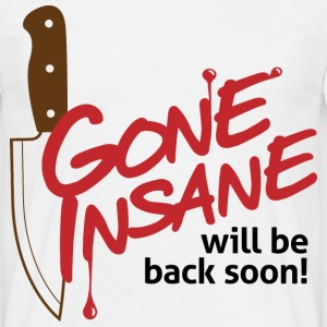 Gone Insane 1 (dd)++ T-shirts - Herre-T-shirt