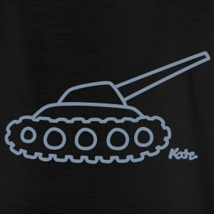 Panzer Børne T-shirts - Teenager-T-shirt