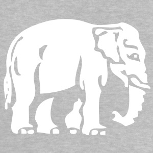 Elephant Crossing Sign Baby Shirts  - Baby T-Shirt