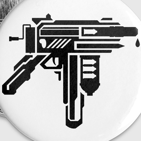 creative weapons all in one Buttons/Badges - Buttons/Badges stor, 56 mm