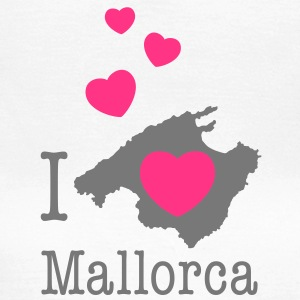 i love mallorca T-Shirts - Frauen T-Shirt
