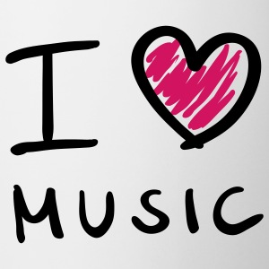I love music - Tasse