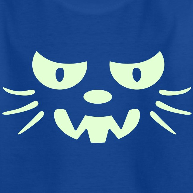 Frosby Night Cat Kids Glow T-shirt