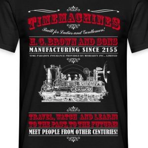 Time Machines (Voor Dark Producten) T-shirts - Mannen T-shirt