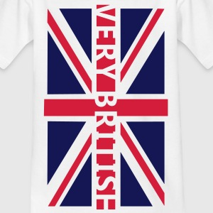VERY BRITISH - Fahne / Flag | Kindershirt - Teenager T-Shirt