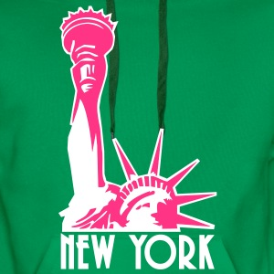 Liberty Enlightening the World, New York, NY, Freiheitsstatue, Statue of Liberty, www.eushirt.com, PL - Bluza męska Premium z kapturem