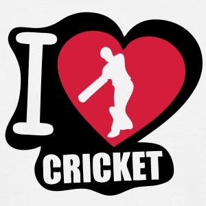 i love cricket Tee shirts - T-shirt Homme
