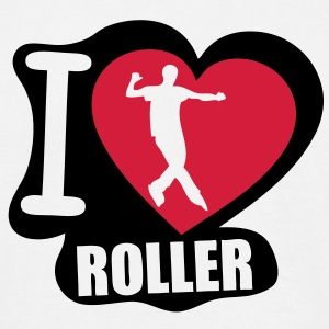 i love roller Tee shirts - T-shirt Homme