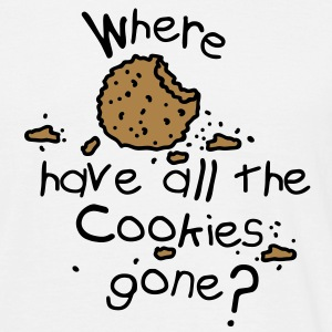 Where have all the cookies gone? T-shirts - Herre-T-shirt