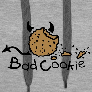 Bad Cookie Pullover - Frauen Premium Hoodie