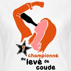 championne leve coude2 Tee shirts - T-shirt Femme