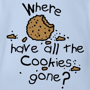 Where have all the cookies gone? Babybody - Ekologisk kortärmad babybody